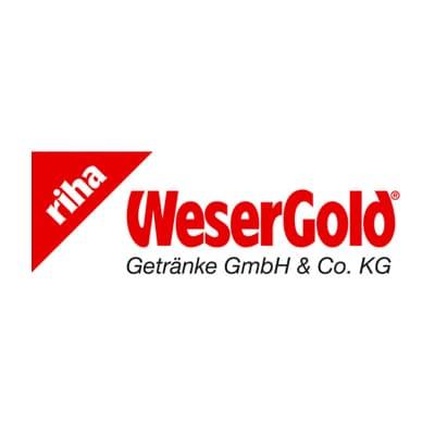 riha WeserGold Getränkegruppe